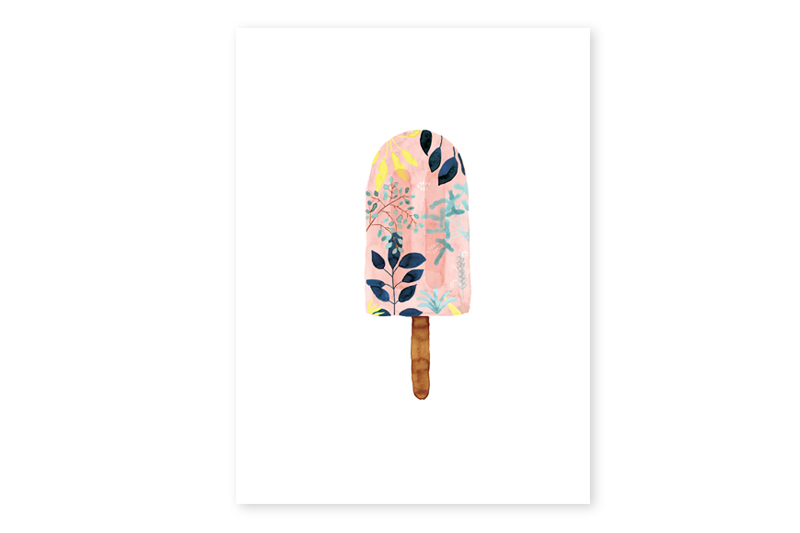 POSTER_PINK_POPSICLE_30x40