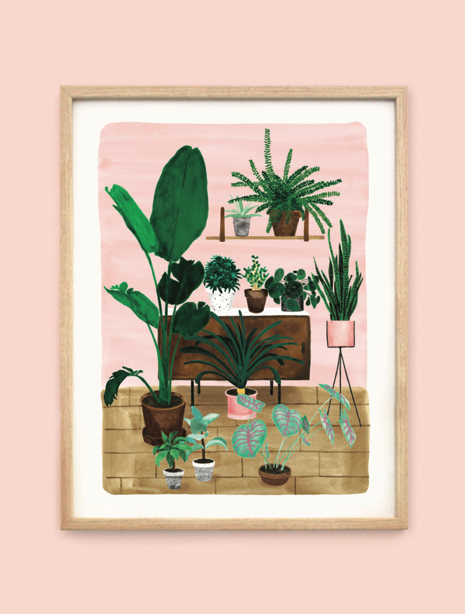 Art Prints ALL THE WAYS TO SAY living-room-print