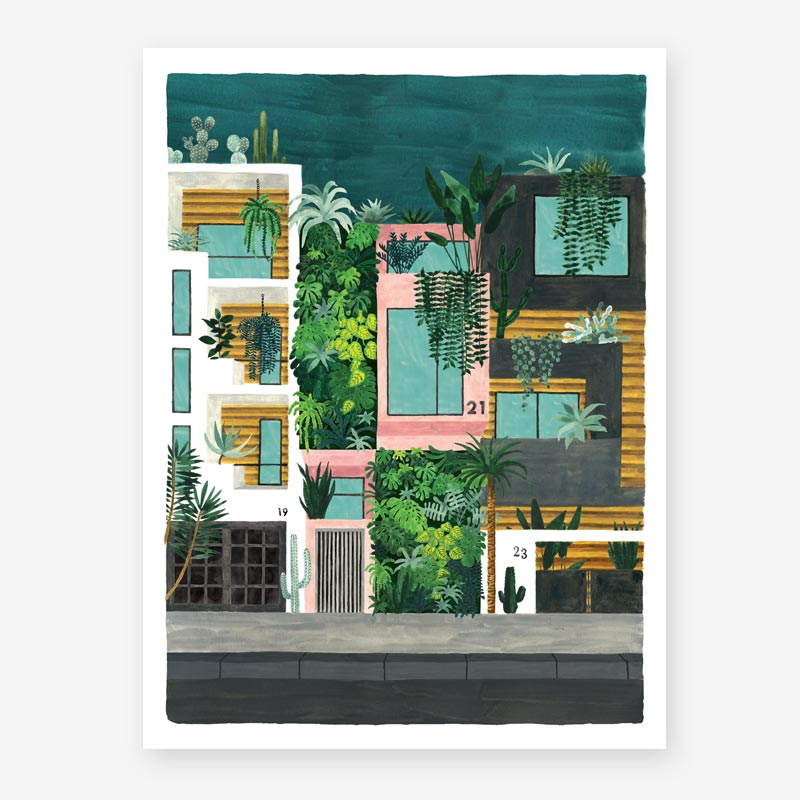 Art Prints ALL THE WAYS TO SAY BUILDINGS