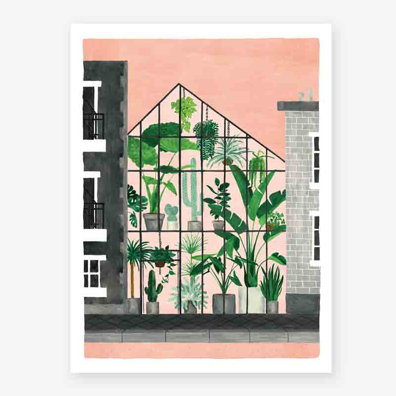 Art Prints ALL THE WAYS TO SAY GREENHOUSE