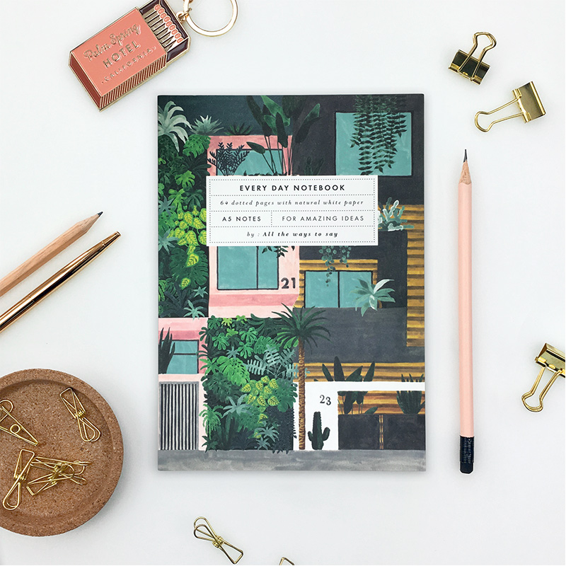 notebook-building-plant-house
