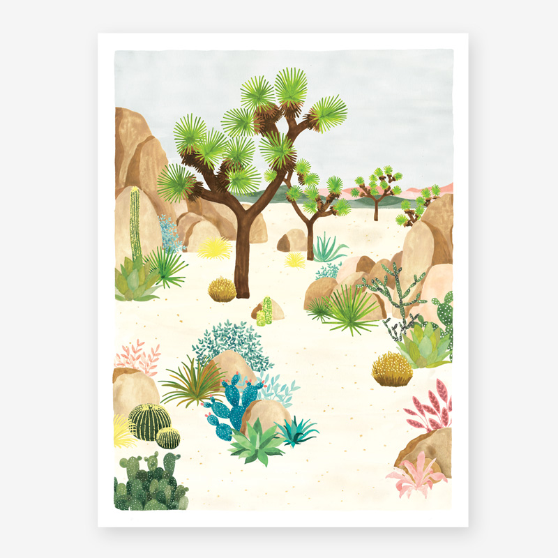 Art Prints ALL THE WAYS TO SAY JOSHUATREE
