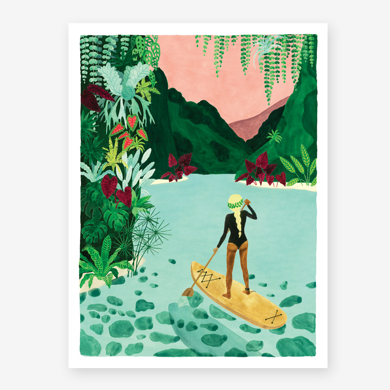 Art Prints ALL THE WAYS TO SAY PADDLE