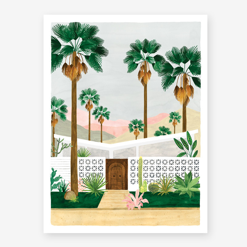 Art Prints ALL THE WAYS TO SAY PALMSPRING
