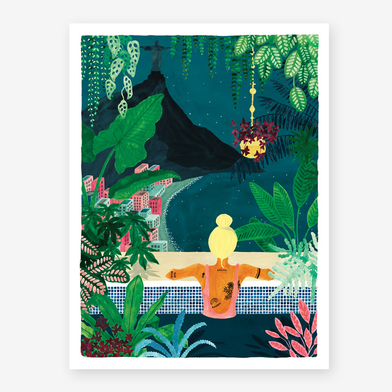 Art Prints ALL THE WAYS TO SAY RIO